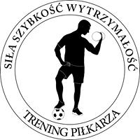 logo trening piłkarza